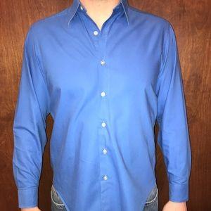 Royal Blue DKNY Dress Shirt